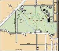 пример карты для охоты на лис
