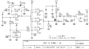 Схема самодельного радиопередатчика