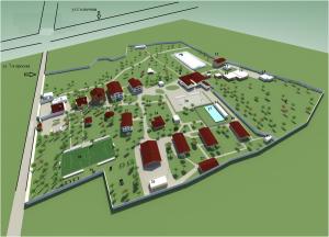 План-схема лагеря Олимп
